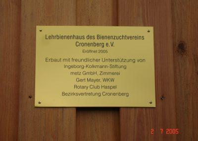 Metz GmbH – Bienenhaus
